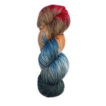 Meilenweit 100 Merino Hand Dyed 615 Angad
