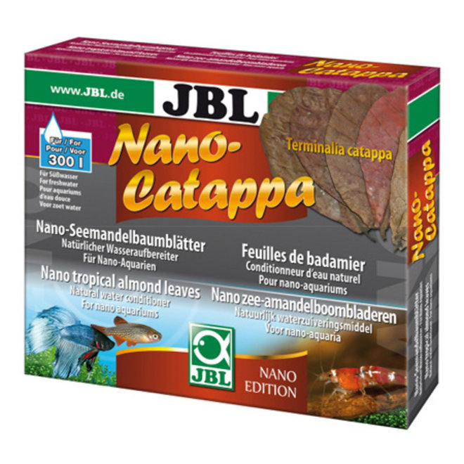 JBL NanoCatappa, nano amandelbladeren