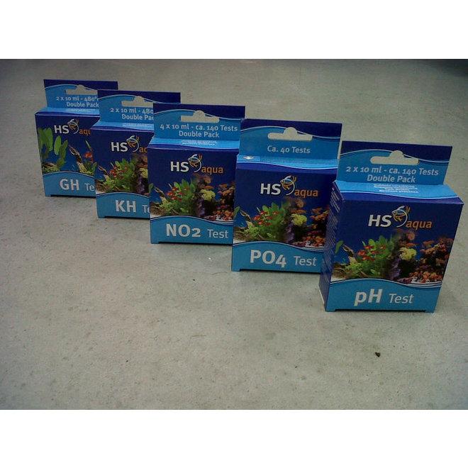 HS Aqua KH carbonaat hardheid test set