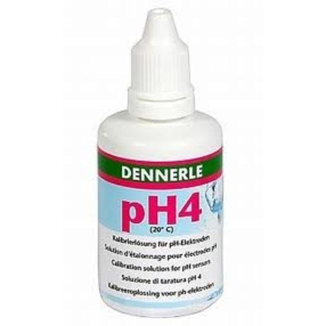 Dennerle ijkvloeistof PH4 50 ml