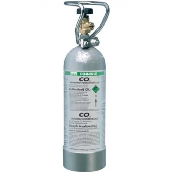 Dennerle CO2 hervulbare fles, 2000 gram