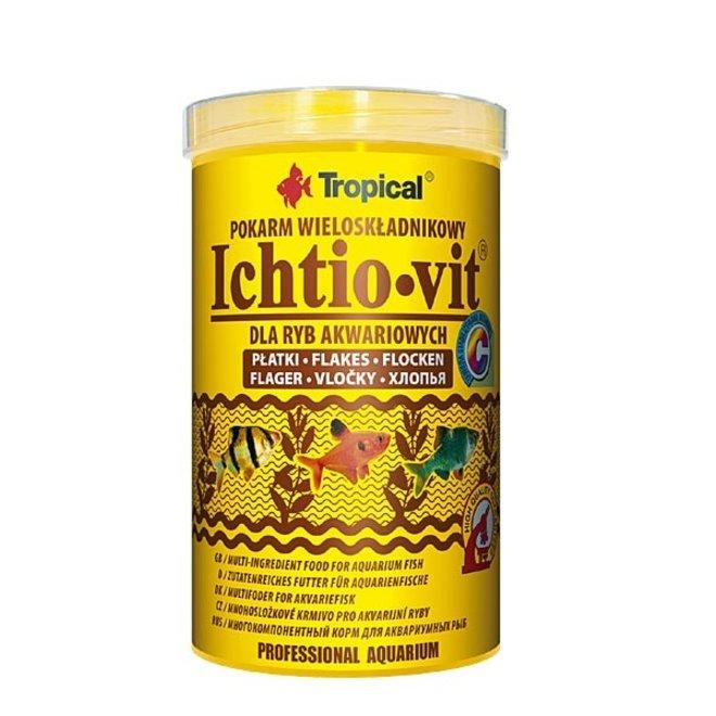 Tropical Ichtio-Vit 250 ml/50 g, vlokkenvoer