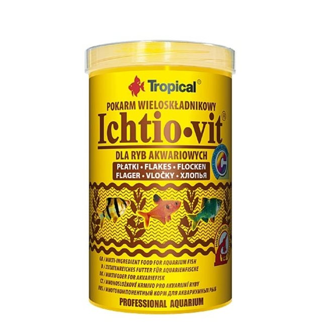 Tropical Ichtio-Vit 500 ml/100 g, vlokkenvoer
