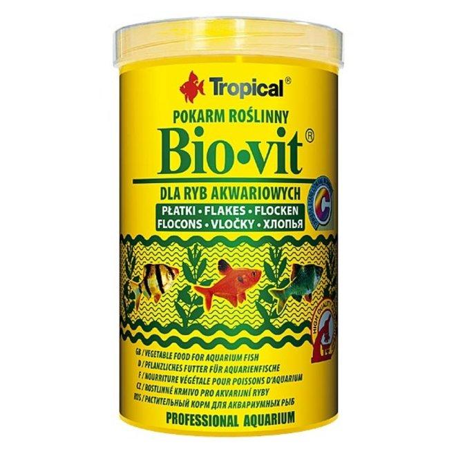 Tropical Bio-Vit 500 ml/100 g, vlokkenvoer plantaardig