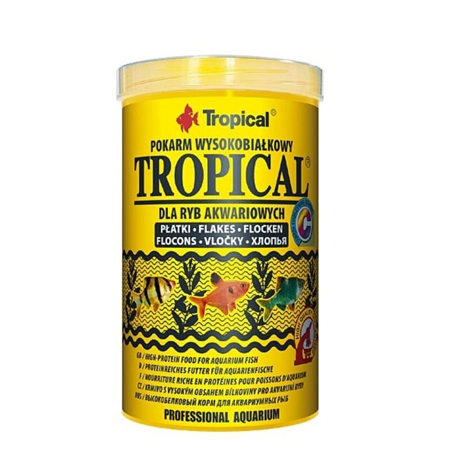 Tropical 1000 ml/200 g, vlokkenvoer