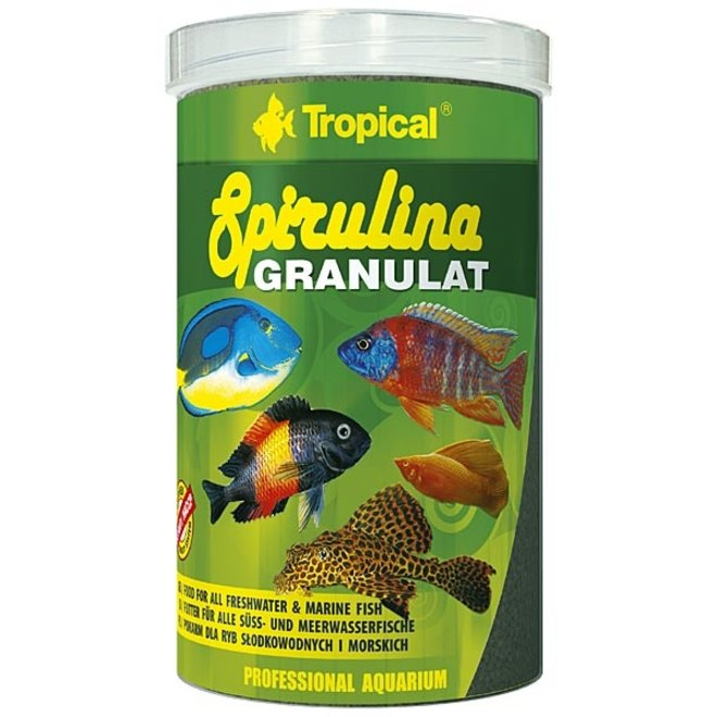 Tropical Spirulina granulaat 100 ml/44 g