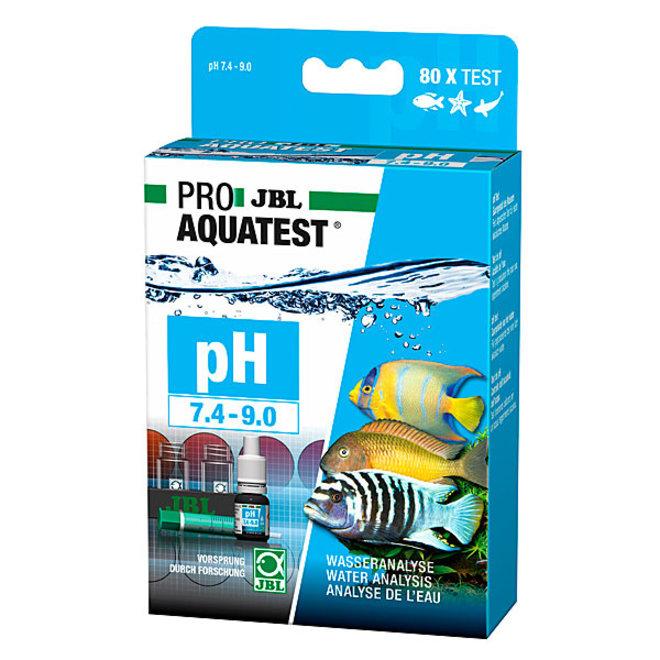 JBL ProAquaTest pH 7,4-9,0 zuurgraad test set