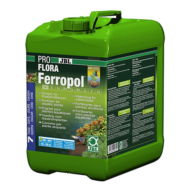 JBL ProFlora Ferropol 5 liter, vloeibare plantenvoeding