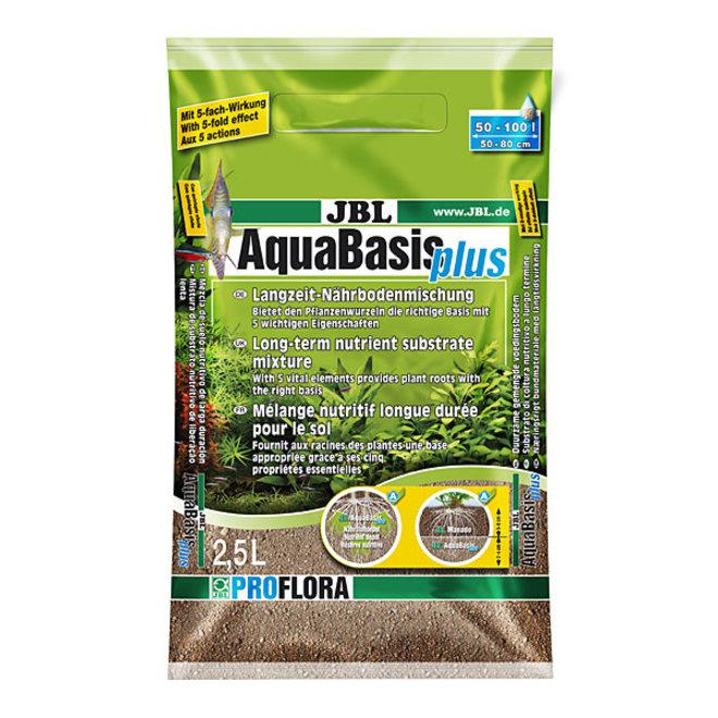 JBL AquaBasis plus 5 liter, voedingsbodem