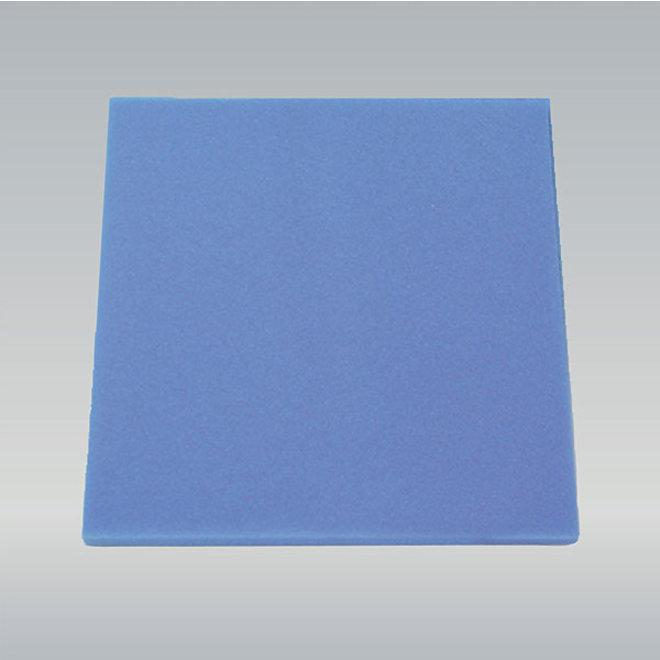 JBL Schuimstof blauw fijn, 50 x 50 x 5 cm