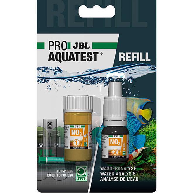 JBL ProAquaTest NO3 nitraat reagens, navulling