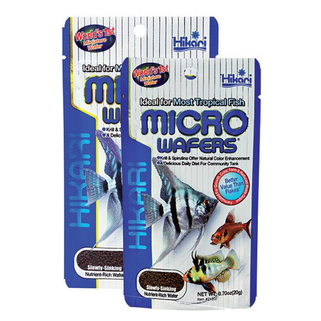 Hikari Tropical Micro Wafers 20 gram, langzaam zinkende wafers