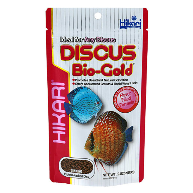 Hikari Tropical Discus Bio-Gold 80 gram, drijvende granulaatvoer