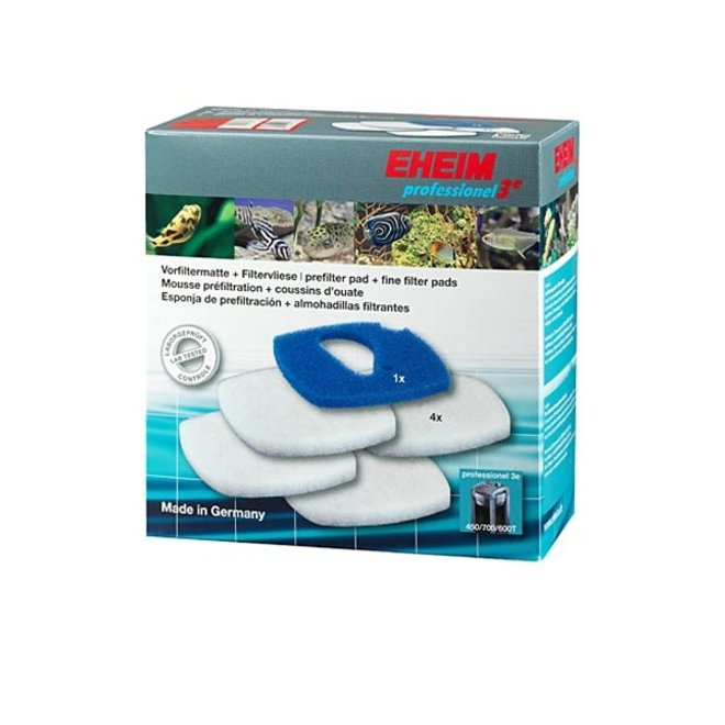 Eheim filtermat/vlies 2616760 1x blauw+4x wit voor Professionel 3e 450/700/600T