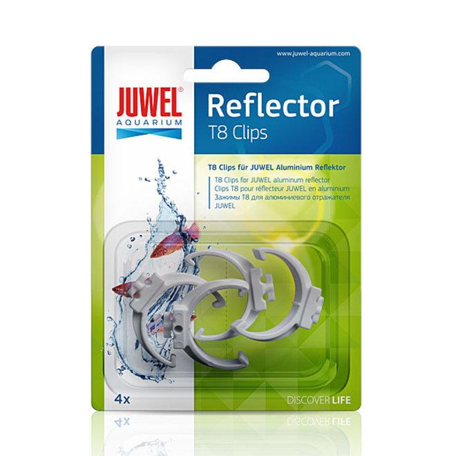 Juwel reflector clips T8 voor reflectoren, 4 stuks