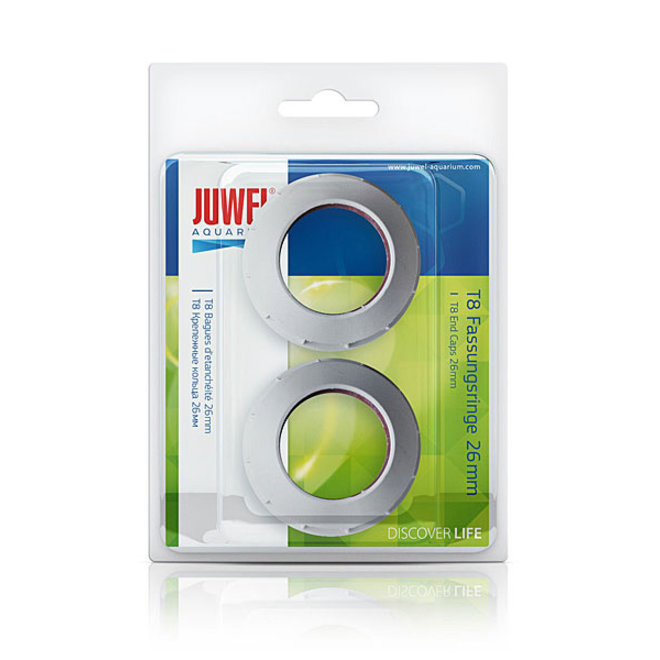 Juwel ring doppen voor T8 26 mm