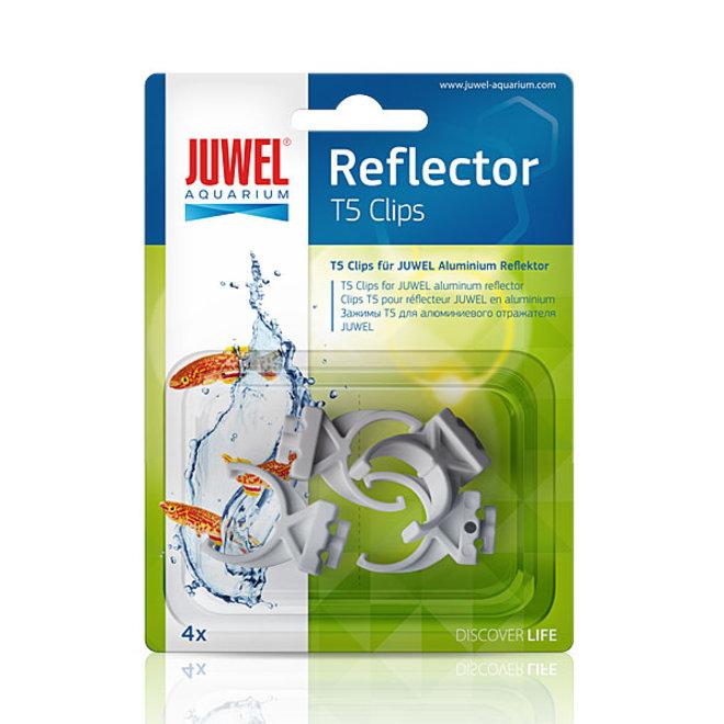 Juwel reflector clips T5 voor reflectoren, 4 stuks