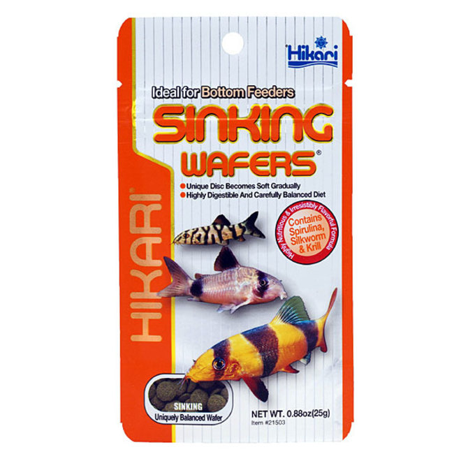 Hikari Tropical Sinking Wafers 25 gram, zinkende wafers