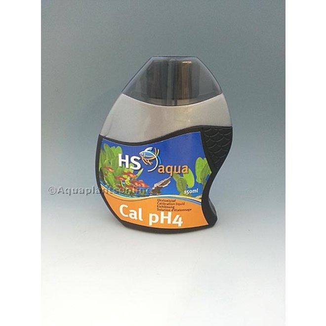 HS Aqua ijkvloeistof pH 4, 150 ml