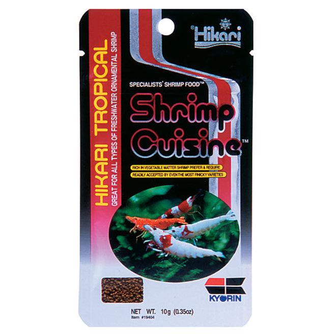 Hikari Tropical Shrimp Cuisine 10 gram, zinkend granulaat
