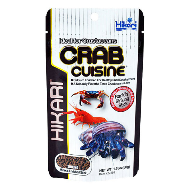 Hikari Tropical Crab Cuisine 50 gram, zinkende sticks