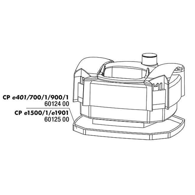 JBL Cristalprofi dichting pompkop voor e1501-e1502-e1901-e1902