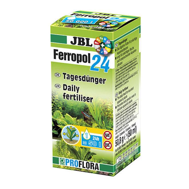 JBL Ferropol 24, 50 ml dagbemester vloeibare plantenvoeding