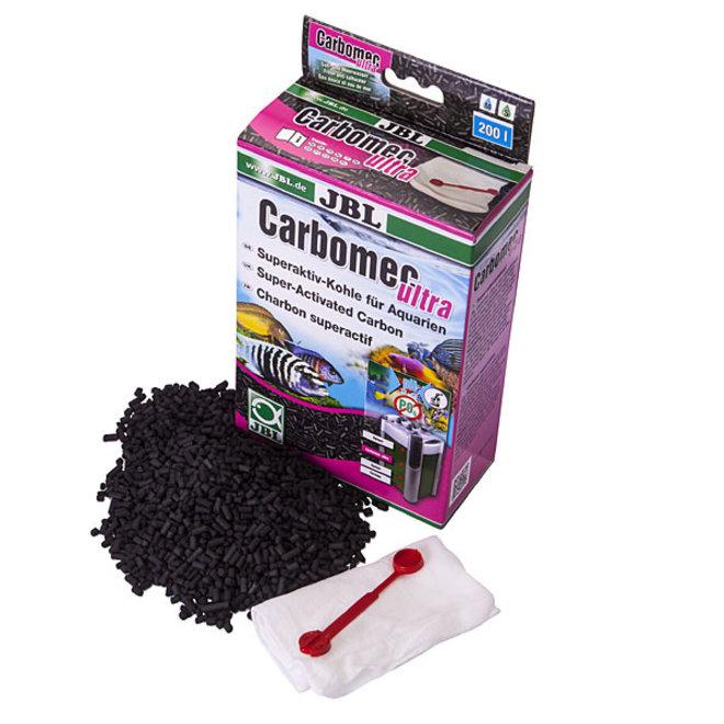 JBL Carbomec Ultra, superactieve houtskool in granulaatvorm