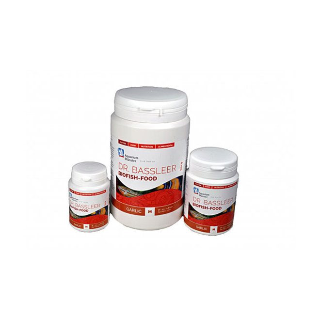 Dr. Bassleer Biofish Food garlic M 60 gram, granulaatvoer