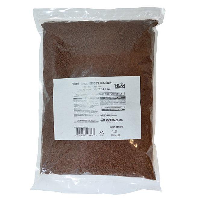 Hikari Tropical Discus Bio-Gold 1 kg, drijvende granulaatvoer