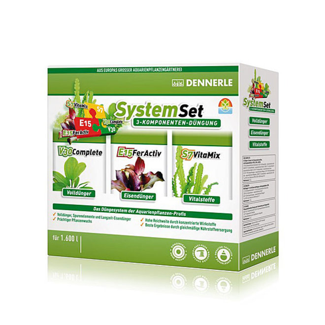 Dennerle Perfect Plant SystemSet, complete bemesting in één set