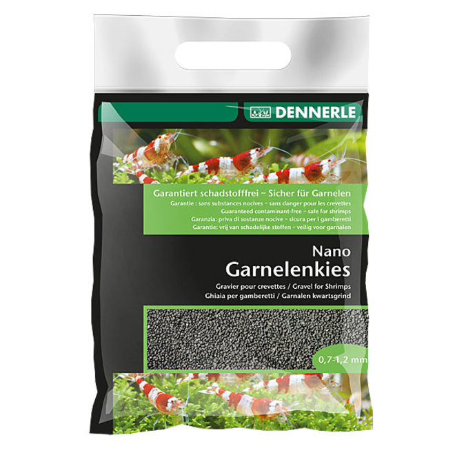 Dennerle Nano Garnalen kwartsgrind 2 kg, sulawesi zwart