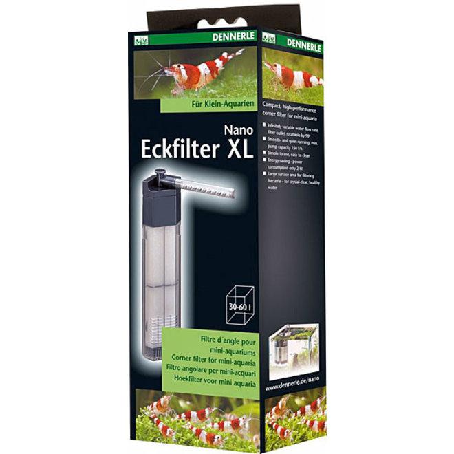 Dennerle Nano Eckfilter XL, nano hoekfilter tot 60 liter