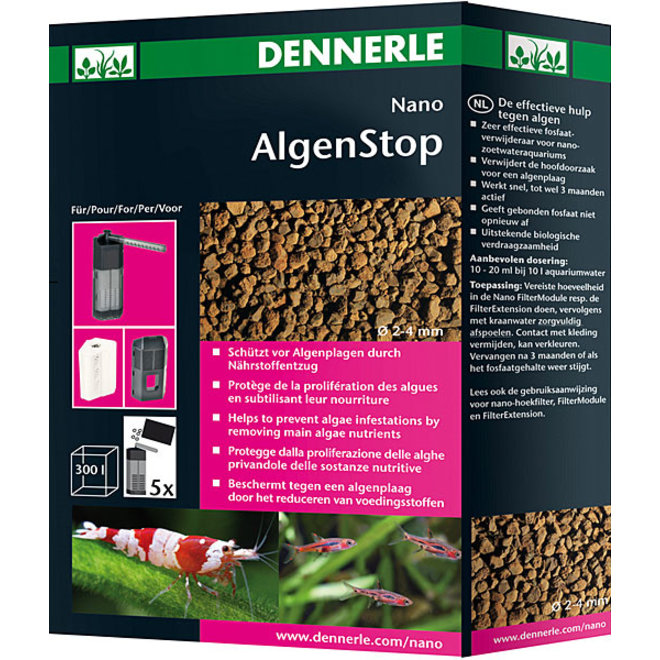 Dennerle Nano AlgenStop 300 ml, tegen algen