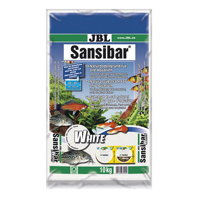 JBL Sansibar White 10 kg, fijne witte bodemgrond