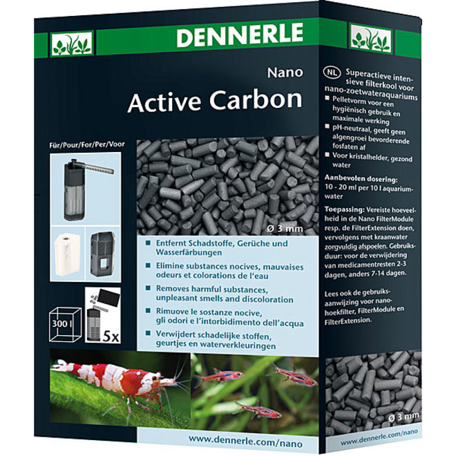 Dennerle Nano ActiveCarbon 300 ml, filterkool