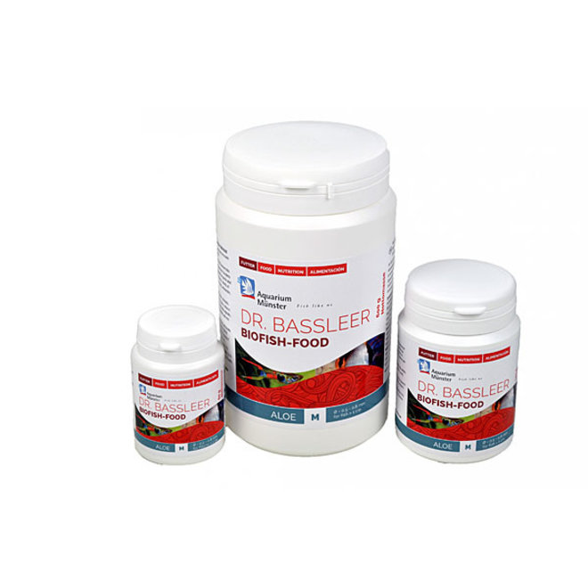 Dr. Bassleer Biofish Food aloë, L 60 gram granulaatvoer