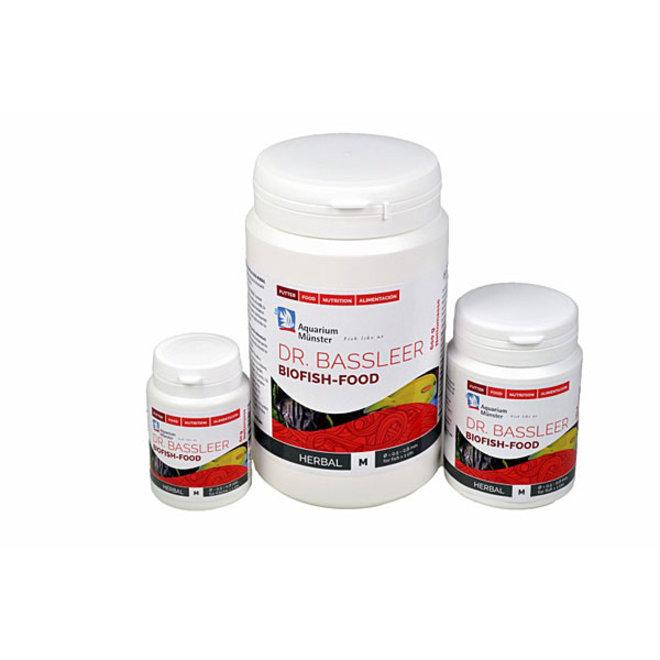 Dr. Bassleer Biofish Food Herbal, M 150 gram granulaatvoer