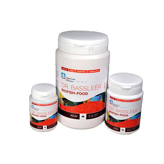 Dr. Bassleer Biofish Food acai, L 60 gram granulaatvoer