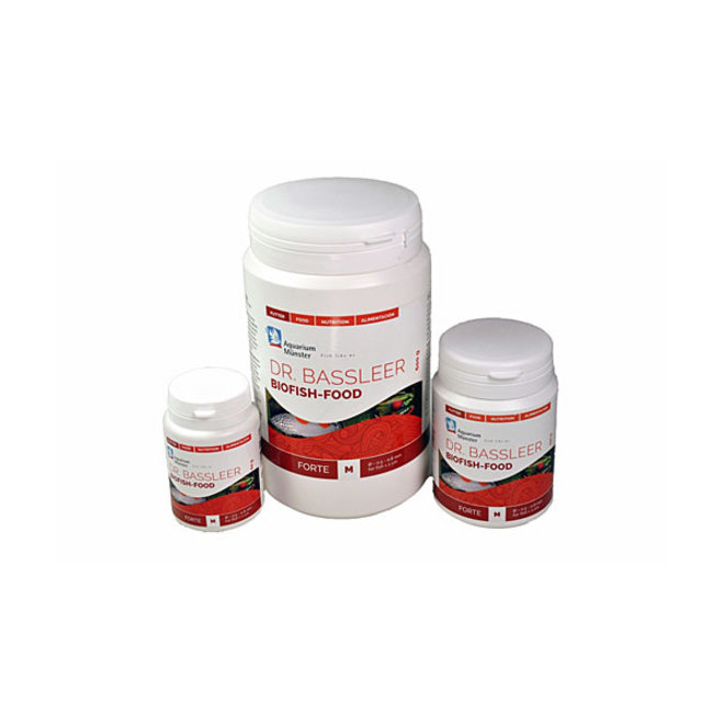 Dr. Bassleer Biofish Food forte, M 150 gram granulaatvoer