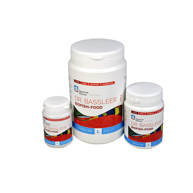 Dr. Bassleer Biofish Food regular L 60 gram, granulaatvoer