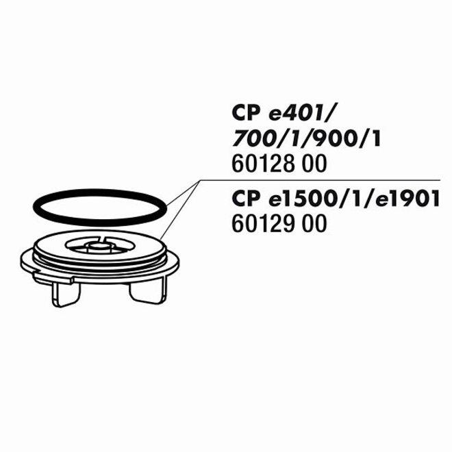 JBL Cristalprofi e1500/e1501/e1901 afdekking rotor