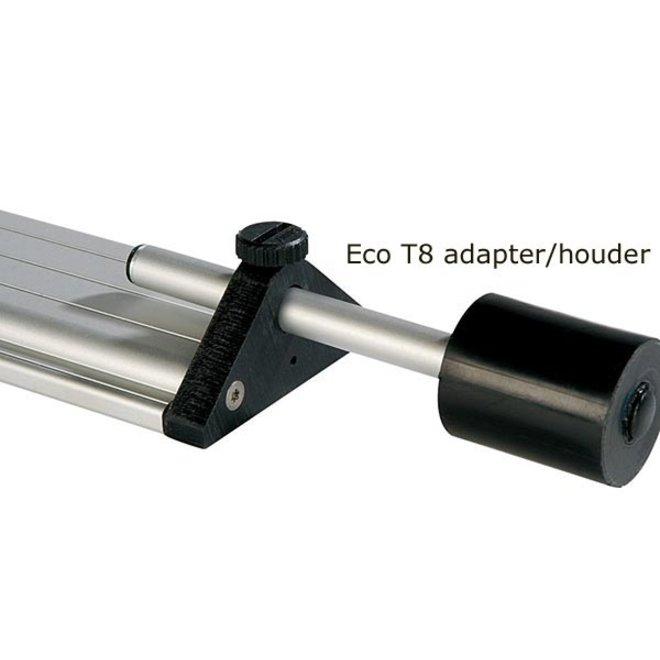 Daytime T8 adapter/holder set