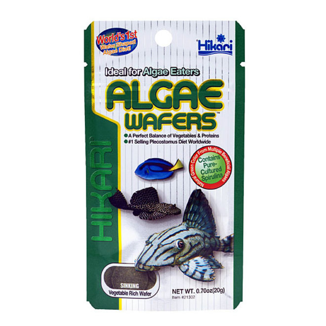 Hikari Tropical Algae wafers 20 gram, zinkende algentabletten