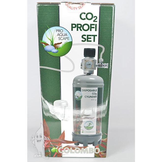 Colombo CO2 Advance Profi set, CO2 set met 800 gram fles