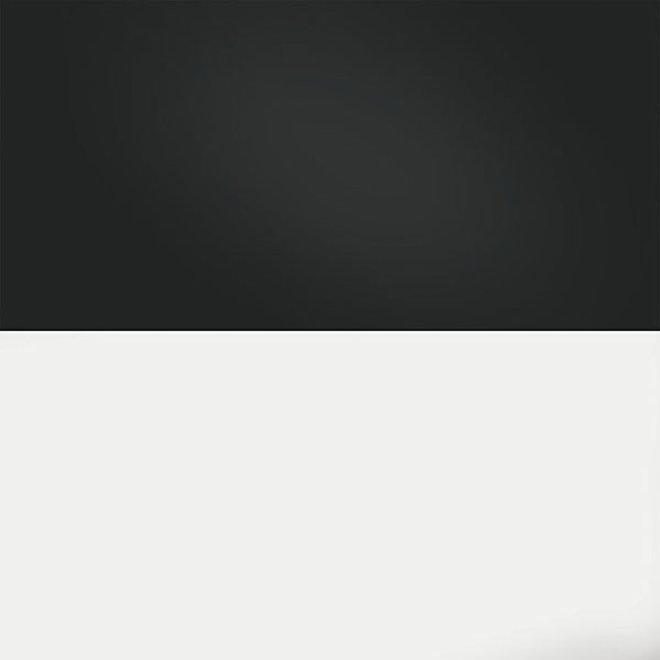 Juwel achterwand poster 3 L 100x50 cm zwart / wit