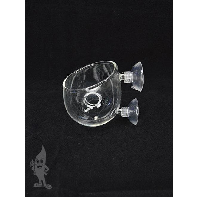 APO Int-Polka, glazen planten pot