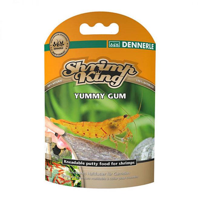 Dennerle Shrimp King Yummy Gum, Kneedbaar klevend voer voor garnalen