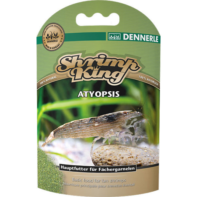 Dennerle Shrimp King Atyopsis, voer voor waaierhandgarnalen
