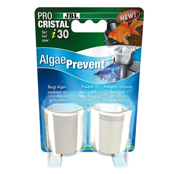JBL ProCristal i30 AlgaePrevent 2 stuks, filterpatroon tegen algengroei
